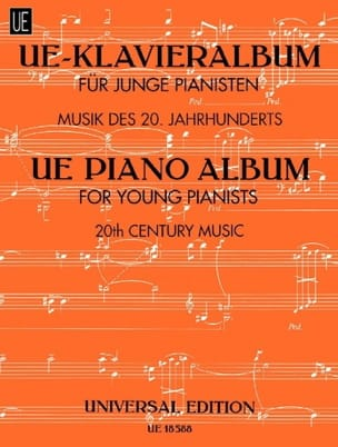 - Ue-Klavieralbum Für Junge Pianisten - Partition - di-arezzo.fr