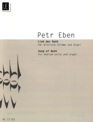 Petr Eben - Lied by Ruth Ruth Gesang Zur Trauung - Sheet Music - di-arezzo.co.uk
