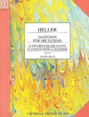 24 Etudes Pour la Jeunesse Opus 125 Stephen Heller laflutedepan