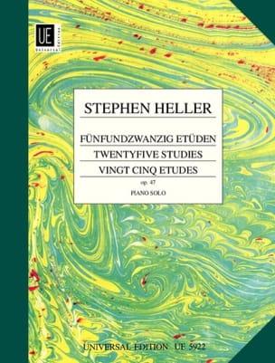 25 Etudes Opus 47 - Stephen Heller - Partition - laflutedepan.com