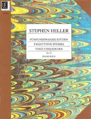 Stephen Heller - 25 Etudes Mélodiques Opus 45 - Partition - di-arezzo.fr