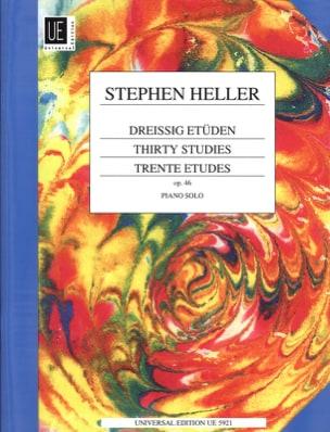 30 Etudes Opus 46 - Stephen Heller - Partition - laflutedepan.com