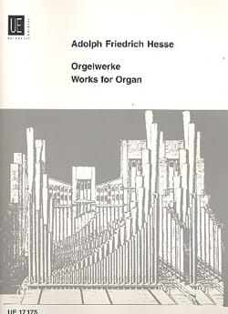 Adolf Friedrich Hesse - Orgelwerke - Partition - di-arezzo.fr