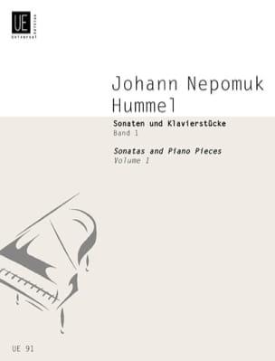 Sonaten und Klavierstücke, Band I HUMMEL Partition laflutedepan