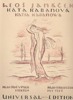 Kátia Kabanovná JANACEK Partition Opéras - laflutedepan