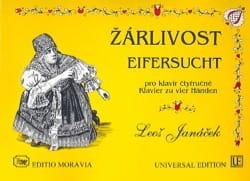 Zarlivost JANACEK Partition Piano - laflutedepan