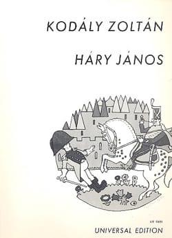 Hary Janos Op. 15 - KODALY - Partition - Opéras - laflutedepan.com
