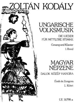 Ungarische Volksmusik Volume 1 KODALY Partition laflutedepan