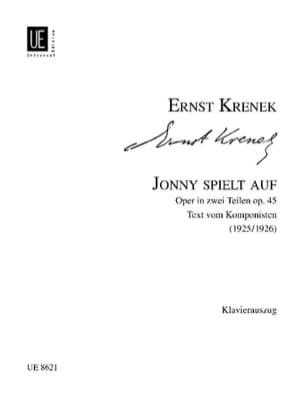 Jonny Spielt Auf Op. 45 - Ernst Krenek - Partition - laflutedepan.com