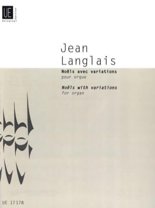 Jean Langlais - Noëls avec variations pour orgue (1979) - Partition - di-arezzo.fr