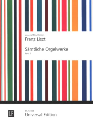 Oeuvre D'orgue Volume 1 LISZT Partition Orgue - laflutedepan