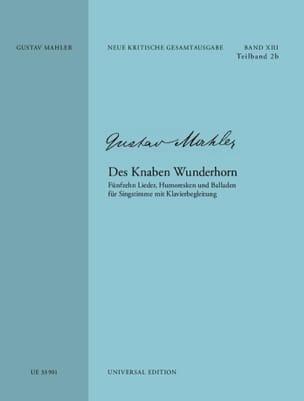 Des Knaben Wunderhorn. Edition critique - laflutedepan.com