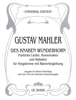 Gustav Mahler - Knaben Wunderhorn. Aloud - Sheet Music - di-arezzo.co.uk