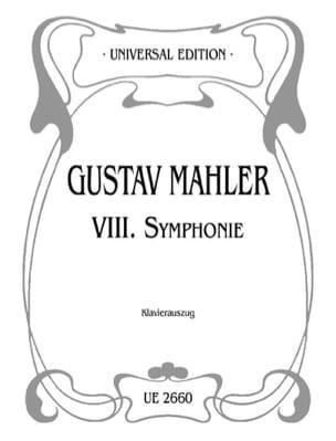 Symphonie n° 8 - Gustav Mahler - Partition - Chœur - laflutedepan.com