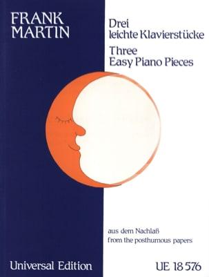 Frank Martin - 3 Leichte Klavierstücke. 2 Pianos - Partition - di-arezzo.fr