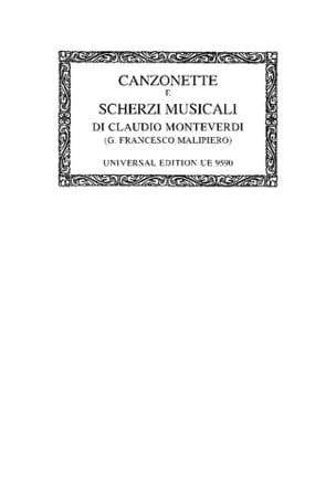 Canzonette E Scherzi Musicali A 3 Voci Libro Primo 1584 laflutedepan