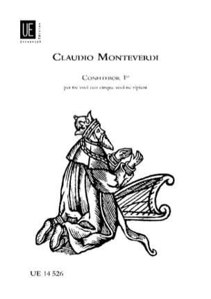 Claudio Monteverdi - Confitebor 1 - Partition - di-arezzo.fr