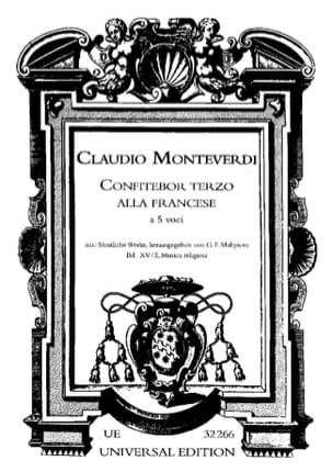 Claudio Monteverdi - Confitebor 3 In the English - Sheet Music - di-arezzo.co.uk