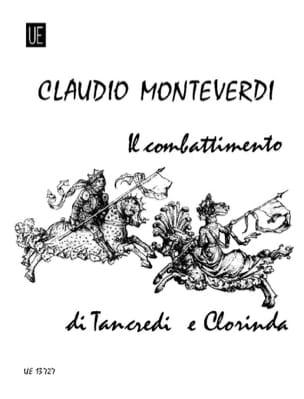Claudio Monteverdi - Il Combattimento Di Tancredi E Clorinda - Partition - di-arezzo.fr