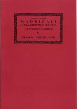 Il Quinto Libro de Madrigali A 5 Voci (1606). Oc5 - laflutedepan.com
