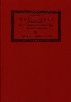 Claudio Monteverdi - Madrigali E Canzonette Libro 9 1651 Oc9 - Sheet Music - di-arezzo.com