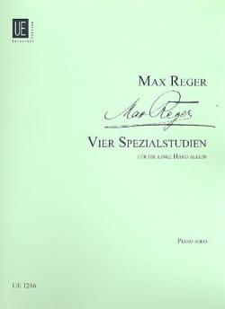 Max Reger - 4 Spezialstudien. - Partition - di-arezzo.fr