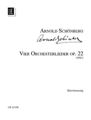4 Orchesterlieder Op. 22 - Arnold Schoenberg - laflutedepan.com