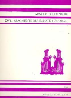 2 Fragments De La Sonate Pour Orgue 1941 - laflutedepan.com