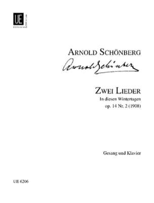Arnold Schoenberg - 2 Lieder Op. 14-2 - Partition - di-arezzo.fr