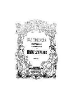 Franz Schreker - Das Spielwerk - Sheet Music - di-arezzo.com