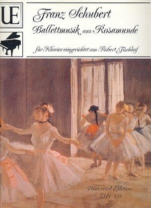 SCHUBERT - Ballettmusik Aus Rosamunde D 797/9 op. 26 - Sheet Music - di-arezzo.co.uk