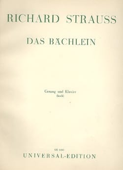 Das Bächlein Fa Majeur - Richard Strauss - laflutedepan.com