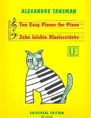 10 leichte Klavierstücke - Alexandre Tansman - laflutedepan.com