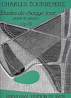 Charles Tournemire - Etudes de chaque Jour Opus 70 - Partition - di-arezzo.fr