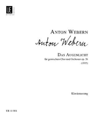 Das Augenlicht Op. 26 - Anton Webern - Partition - laflutedepan.com