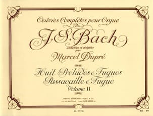 Bach Jean-Sébastien / Dupré Marcel - Complete Works For Organ Volume 2 - Sheet Music - di-arezzo.co.uk