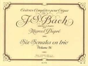 Bach Jean-Sébastien / Dupré Marcel - Complete Works For Organ Volume 4 - Sheet Music - di-arezzo.com