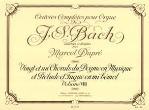 BACH / DUPRE - Complete Works For Organ Volume 8 - Partition - di-arezzo.co.uk