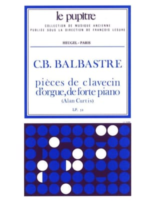 Balbastre Claude-Bénigne / Curtis Alan - Harpsichord Pieces - Sheet Music - di-arezzo.co.uk
