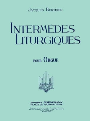 Jacques Berthier - Liturgical Intermediates - Sheet Music - di-arezzo.com