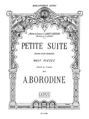 Alexandre Borodine - Small Suite Followed by a Scherzo - Partition - di-arezzo.com