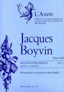 Boyvin Jacques / Bonfils Jean - 1er Livre D'orgue Volume 1 - Partition - di-arezzo.fr