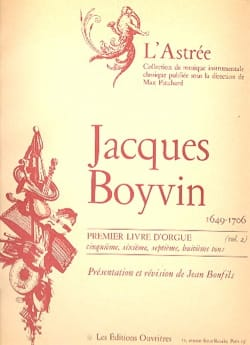1er Livre D'orgue Volume 2 Boyvin Jacques / Bonfils Jean laflutedepan