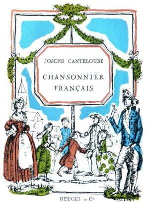 Joseph Marie Canteloube - French Songbook - Sheet Music - di-arezzo.co.uk