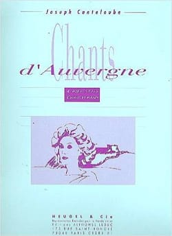 Chants D'Auvergne Volume 4 Joseph Marie Canteloube laflutedepan