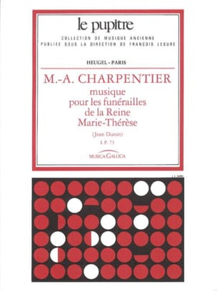 Marc-Antoine Charpentier - Music For the Funeral of Queen Marie-Thérèse - Sheet Music - di-arezzo.com