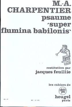 Psaume 136 Super Flamina Babilonis CHARPENTIER Partition laflutedepan
