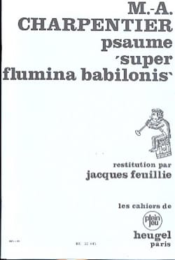 Marc-Antoine Charpentier - Psaume 136 Super Flamina Babilonis - Partition - di-arezzo.fr