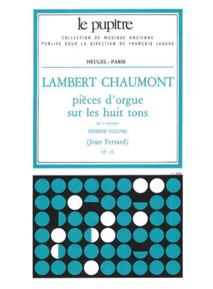 Chaumont Lambert / Ferrard Jean - Organ Pieces on the 8 Tone Volume 1 - Sheet Music - di-arezzo.com