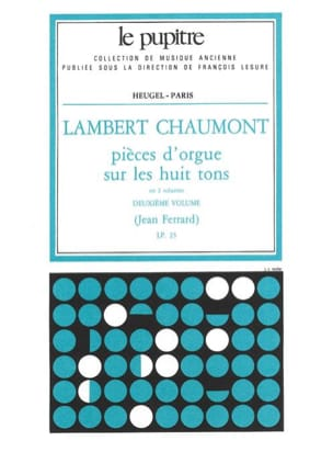 Chaumont Lambert / Ferrard Jean - Organ Pieces on the 8 Tones. Volume 2 - Sheet Music - di-arezzo.com